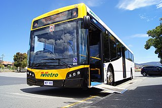 Metro Tasmania Tasmanian government bus operator