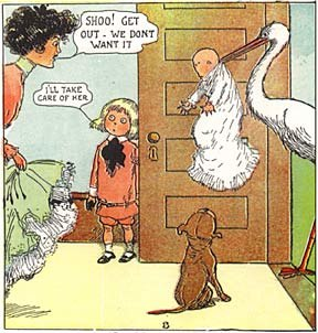 Buster Brown baby