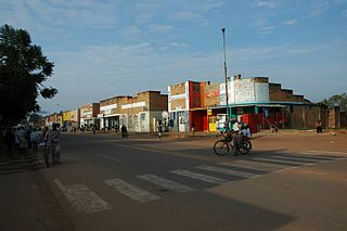 Butare Place in Southern Province, Rwanda