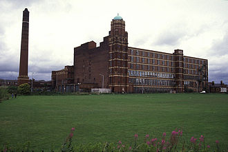 Leigh, Greater Manchester - Butts Mill, Leigh