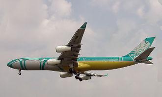 BWIA West Indies Airways - BWIA Airbus A340-300 in 2002