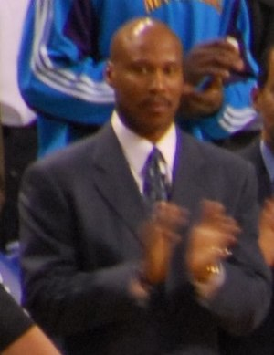 Byron Scott - Scott coaching the Hornets in 2008