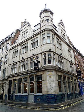 Byron Hamburgers - Byron burger bar, the former Intrepid Fox, Soho, London