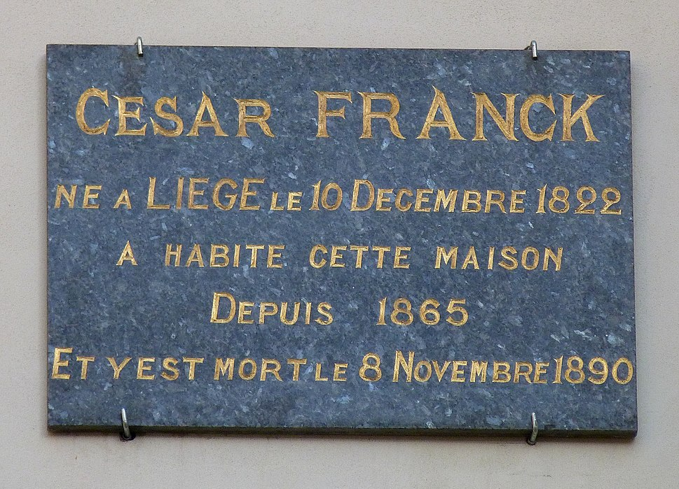 César Franck 95 bd Saint-Michel