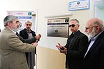 CEO PESCO Syed Hassan Fazil, DCOP M.Saleem Arif, Reforms Lead PDP Inaugurate Revenue Protection Cell PESCO (16524639740).jpg