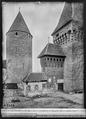 CH-NB - Estavayer-le-Lac, Château Chenaux, vue partielle extérieure - Collection Max van Berchem - EAD-6883.tif