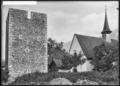 CH-NB - Silenen, 14-Nothelfer-Kapelle und Turm der Edlen von Silenen, vue partielle - Collection Max van Berchem - EAD-6787.tif