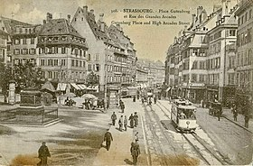 Image illustrative de l'article Ancien tramway de Strasbourg