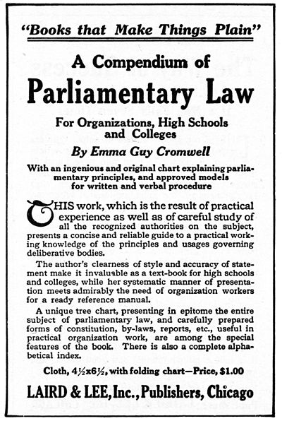 CLOOC D003 a compendium of parliamentary law.jpg