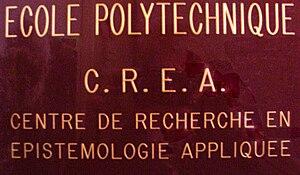 Centre de Recherche en Epistémologie Appliquée