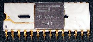 PMOS logic - PMOS clock IC, 1974