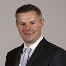 Cabinet Secretary for Finance and Constitution, Derek Mackay.png