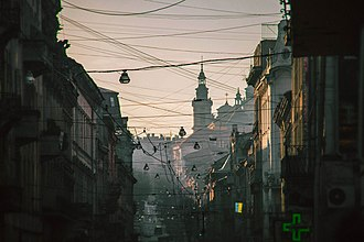 Old Town (Lviv) - Streets