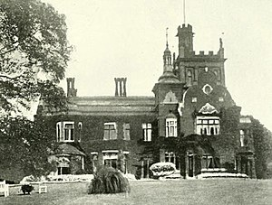 Athlone House - Caen Wood Towers (south view) circa 1900.