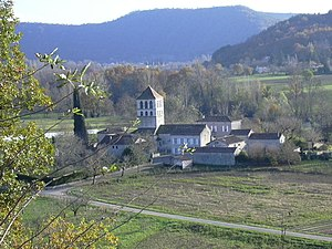 Caillac - The church in Caillac