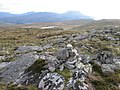 Cairn on Creag na h-lolaire - geograph.org.uk - 823419.jpg