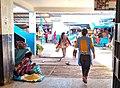 Calca Peru- Quinoa seller at mercado.jpg