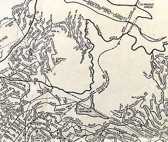 Caldecott Tunnel - Traffic patterns in 1937