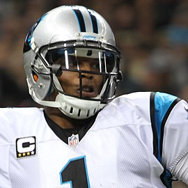 Headshot of Cam Newton in uniform