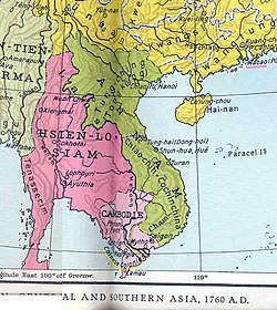 Đại Việt (Annam) during the Later Lê Dynasty in 1757