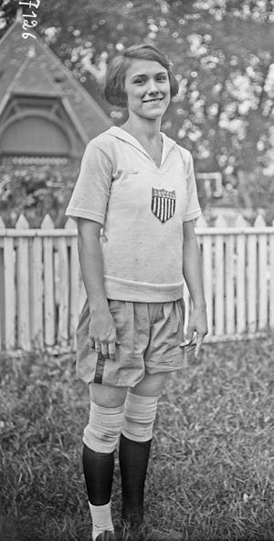 1922 Women's World Games -  Camille Sabie