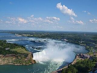 waterfall of the Niagara Falls