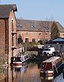 Canalside warehouses, Shardlow - geograph.org.uk - 714595.jpg