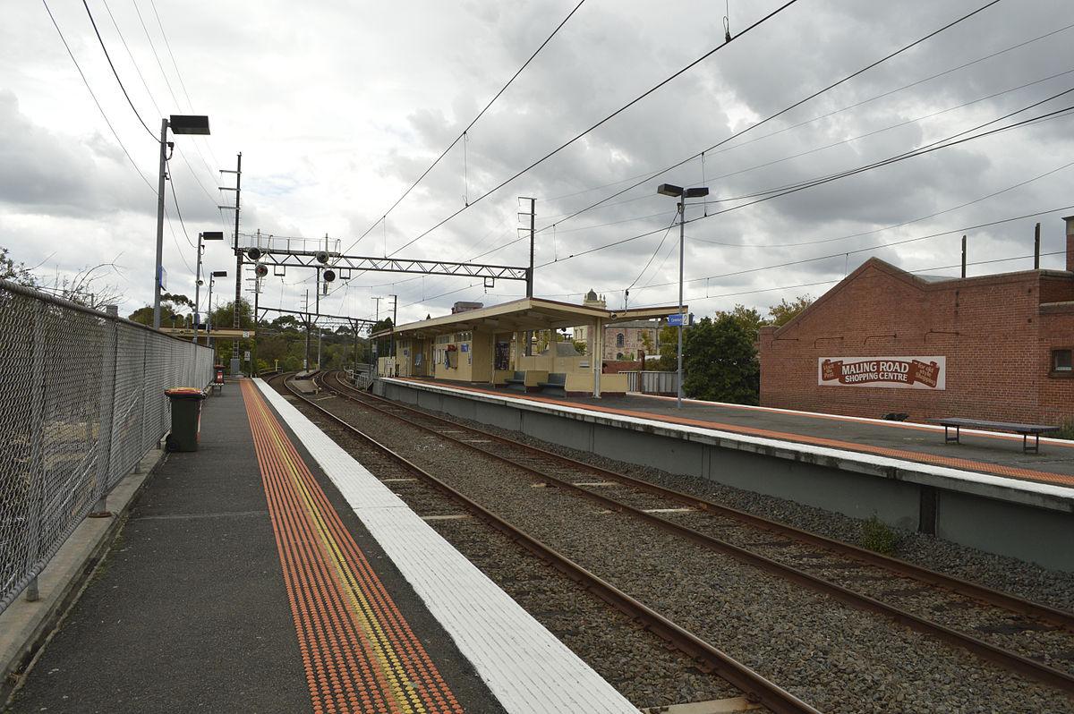 Canterbury Railway Station Melbourne Wikipedia