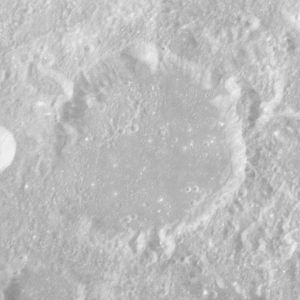 Cannon (crater) - Image: Cannon crater AS16 P 5587