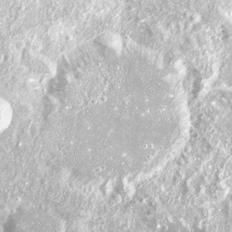 Cannon (crater) - Apollo 16 image