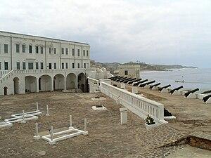 Cape Coast - Center of the Cape Coast Castle