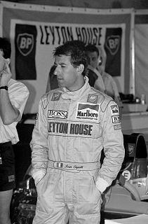 Ivan Capelli racecar driver