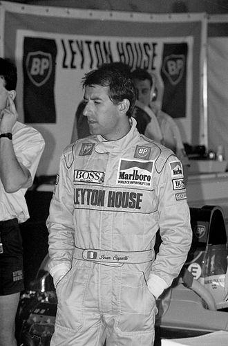 Ivan Capelli - Capelli at the 1991 United States Grand Prix