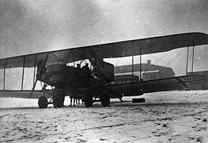 Captured AEG G.IV at Bickendorf 1919.jpg