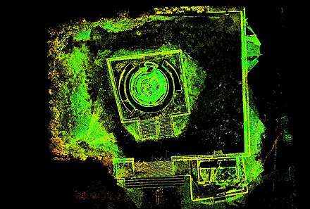 Laser scan of El Caracol