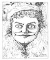 """Caricatures of the Stage - Countess de Cagiac in """"The Swell Miss Fitzwell"""".jpg"""