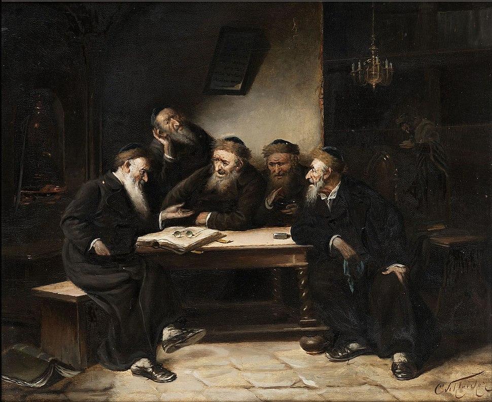 Carl Schleicher Jüdische Szene 2