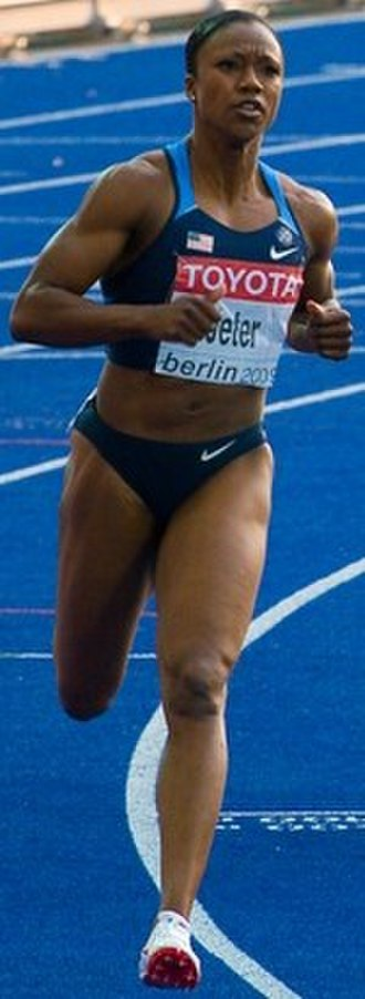 Carmelita Jeter - Jeter at the 2009 World Championships