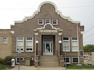 National Register of Historic Places listings in Howard County, Missouri - Image: Carnegie Public Library Fayette Missouri