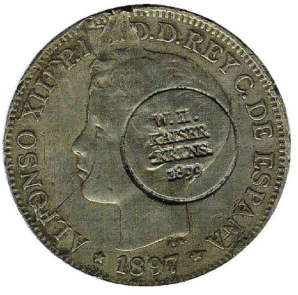 Monedas Españolas de las Filipinas 604px-Carolinas_Islands_coin_2013_derivate_000