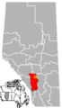Carstairs, Alberta Location.png