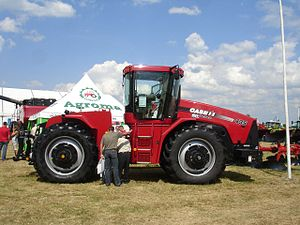 Case STX Steiger - Case IH Steiger 435 wheeled tractor