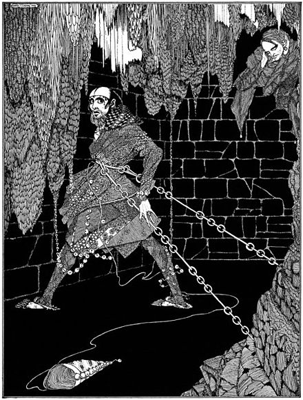 The Cask of Amontillado, illustration by Harry Clarke