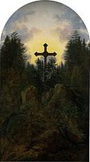 Cross in the Mountains