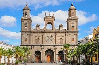 Las Palmas Cathedral - Cathedral of Santa Ana.