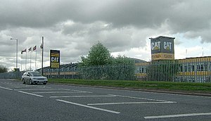 Great Wyrley - Image: Caterpillar Plant geograph.org.uk 7901