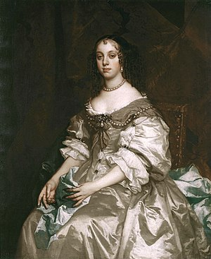 Catherine of Braganza - Portrait by Peter Lely, 1665