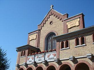 Kelebija - The facade of the Catholic Church