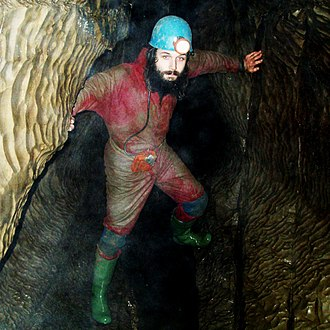 Caving - Caving in the north of England, an area that is also popular for pothole exploring