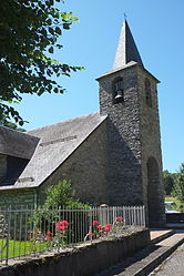 The church in Cazaux-Layrisse